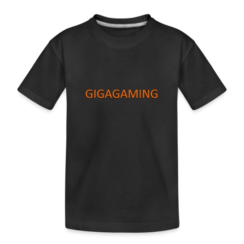 GIGAGAMING - Teenager premium T-shirt økologisk