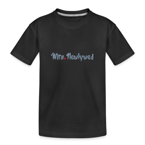 Mrs Newlywed - Teenager Premium Organic T-Shirt