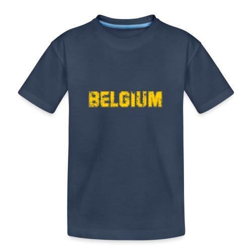 Campus Yellow - T-shirt bio Premium Ado