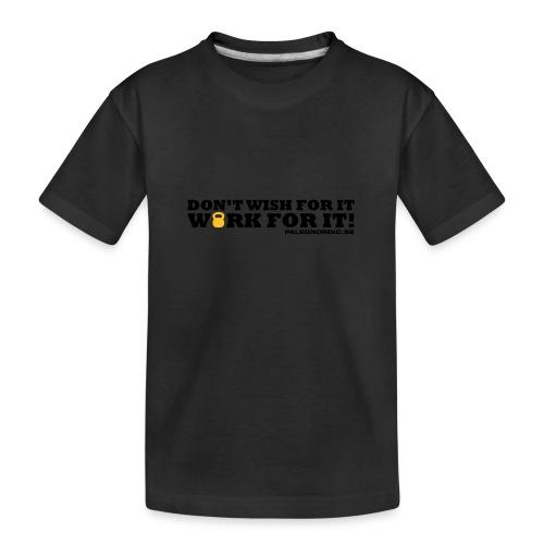 workforitsmal - Ekologisk premium-T-shirt tonåring