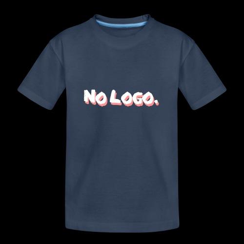 no logo - Teenager Premium Bio T-Shirt