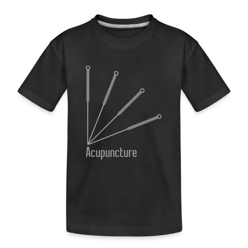 Acupuncture Eventail vect - T-shirt bio Premium Ado