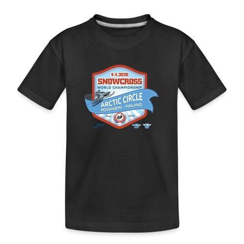 MM Snowcross 2020 virallinen fanituote - Teinien premium luomu-t-paita