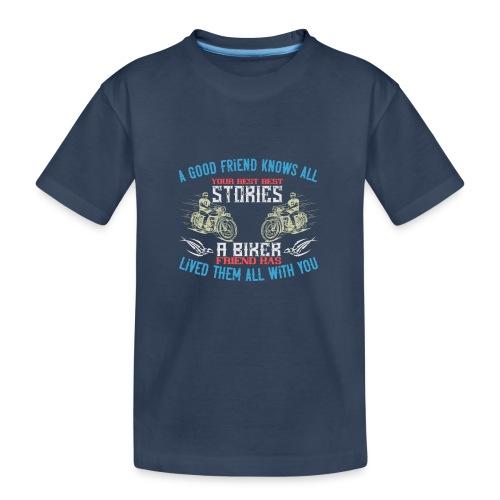 Biker stories. - Teenager Premium Organic T-Shirt