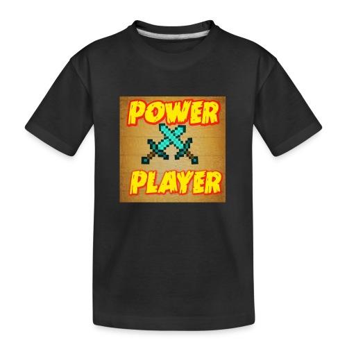 NUOVA LINEA POWER PLAYER - Maglietta ecologica premium per ragazzi