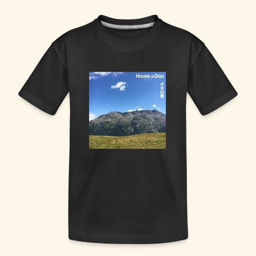 House of Dao - Top of Mountain View - Teenager Premium Bio T-Shirt