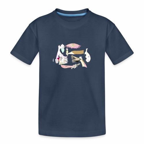 Pintular - Camiseta orgánica premium adolescente