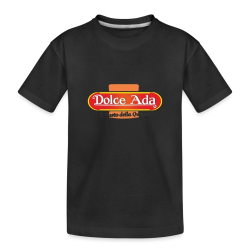 DolceAda il gusto della qualità - Maglietta ecologica premium per ragazzi