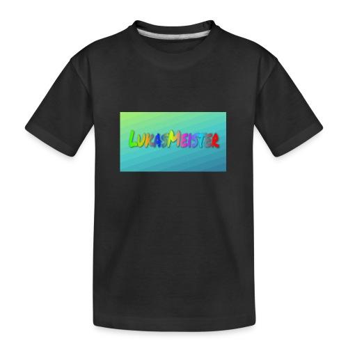 Kyllinge steam navn - Teenager premium T-shirt økologisk