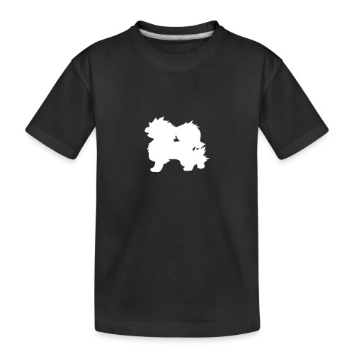 All white Arcanine Merch - T-shirt bio Premium Ado