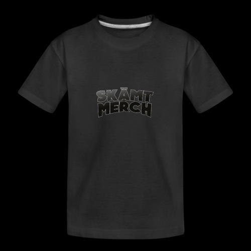 skämt merch lol - Ekologisk premium-T-shirt tonåring