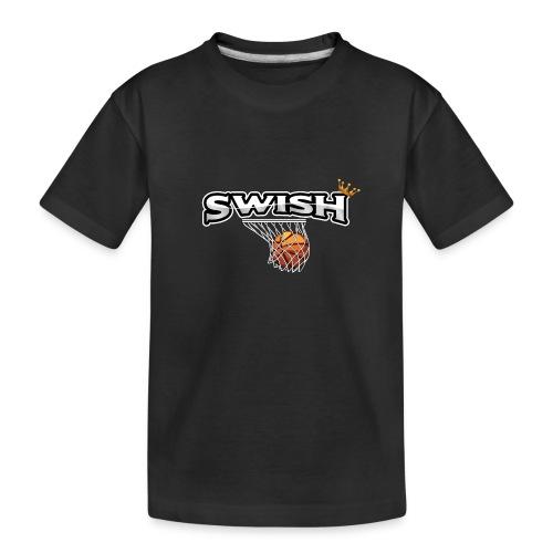 The king of swish - For basketball players - Teenager Premium Organic T-Shirt