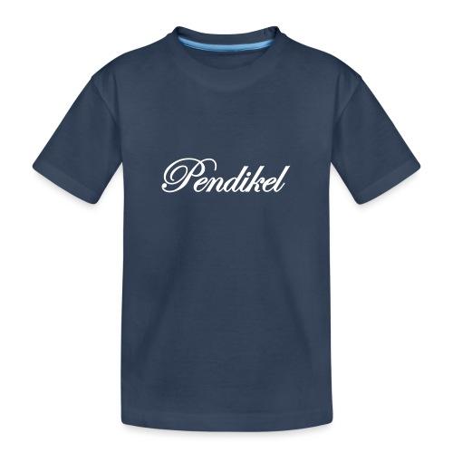 Pendikel Schriftzug (offiziell) Buttons & - Teenager Premium Bio T-Shirt