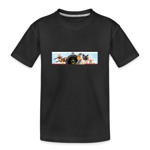Animaux logo - Teenager premium biologisch T-shirt
