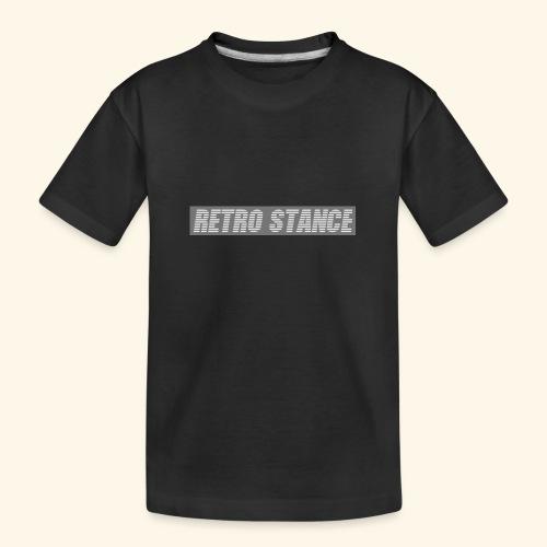 Retro Stance - Teenager Premium Organic T-Shirt