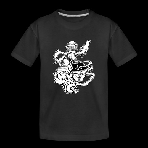 The Real HipHop Elements - Teenager Premium Bio T-Shirt
