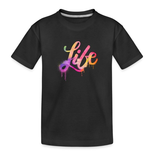 life - Maglietta ecologica premium per ragazzi