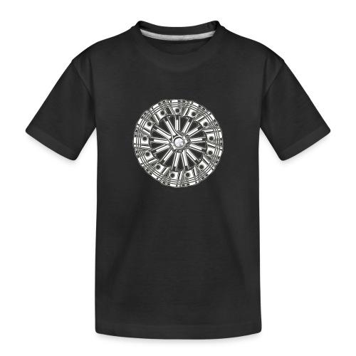 zuiger rol - Teenager premium biologisch T-shirt