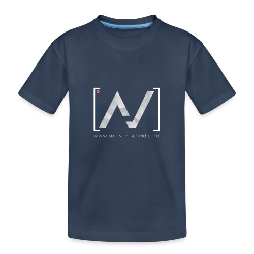 logoalpha blanc - T-shirt bio Premium Ado