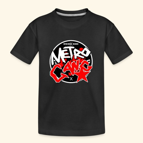 METRO GANG LIFESTYLE - Teenager Premium Organic T-Shirt