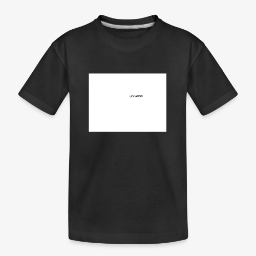 UNIVERSE BRAND SPONSOR - Maglietta ecologica premium per ragazzi