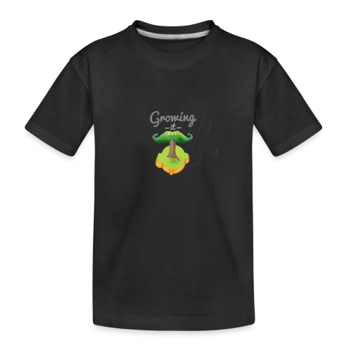 Moustache tree - Teenager Premium Organic T-Shirt