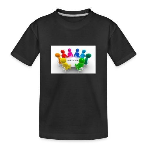 comitato 1c - Maglietta ecologica premium per ragazzi