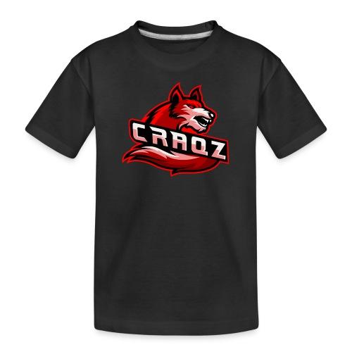 Craqz logo - Teenager premium T-shirt økologisk