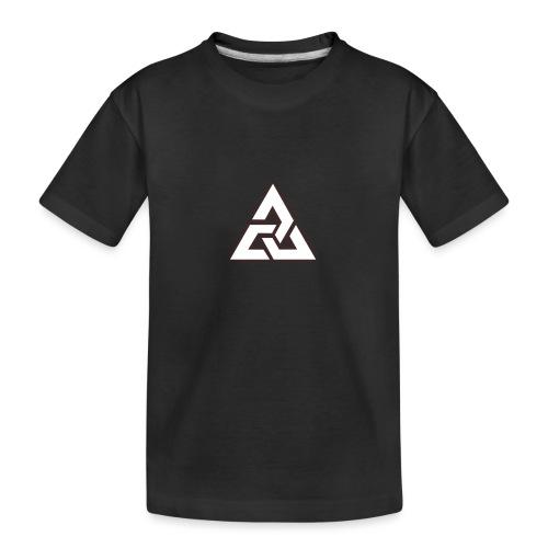 Großes Logo [JxsyFX] - Teenager Premium Bio T-Shirt
