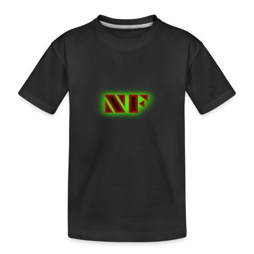 My Logo - Premium økologisk T-skjorte for tenåringer
