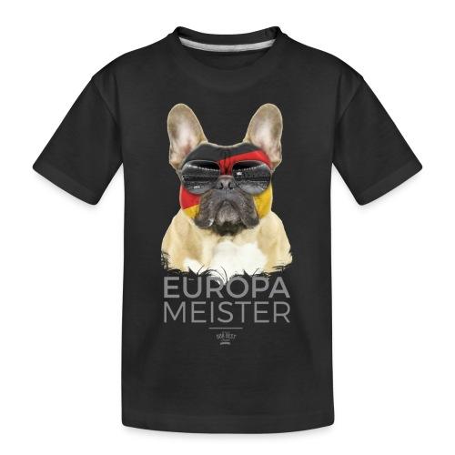 Europameister Deutschland - Teenager Premium Bio T-Shirt