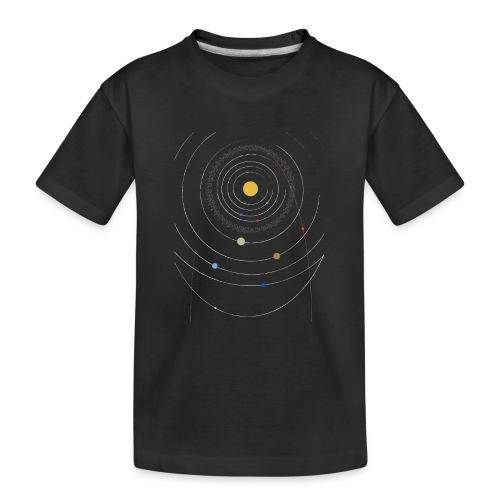 Sonnensystem mit Nibiru - Teenager Premium Bio T-Shirt