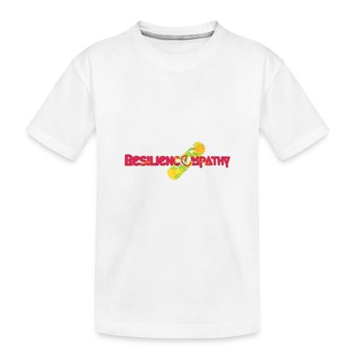 Resilincempathy reggae - Maglietta ecologica premium per ragazzi