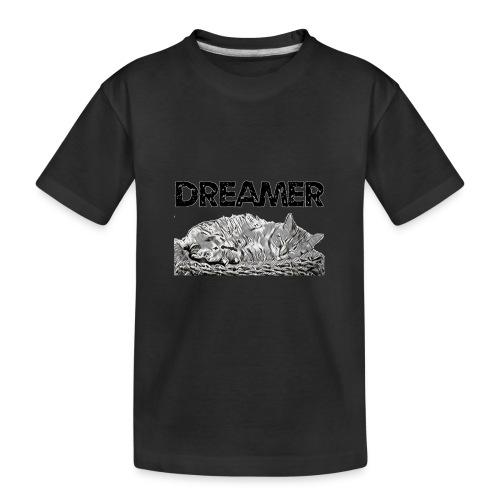 Dreamer - Maglietta ecologica premium per ragazzi