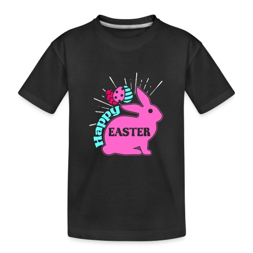 Happy Easter - Frohe Ostern - Teenager Premium Bio T-Shirt