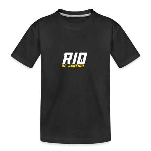 Rio de Janeiro Design. Modern und trendy - Teenager Premium Bio T-Shirt