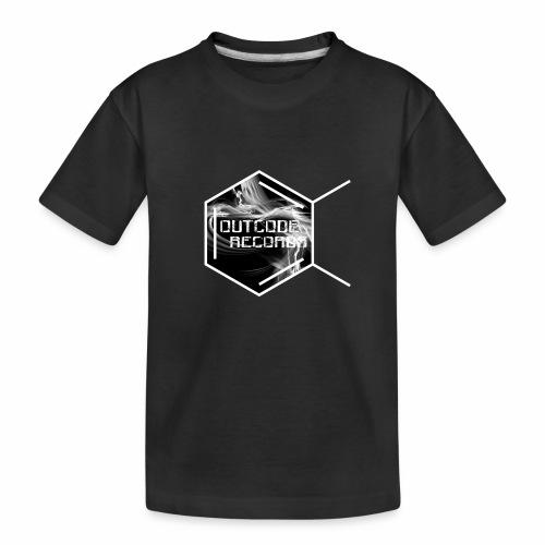 Outcode Records - Camiseta orgánica premium adolescente