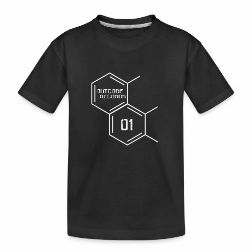 Outcode 01 - Camiseta orgánica premium adolescente