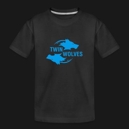 Twin Wolves Studio - Maglietta ecologica premium per ragazzi