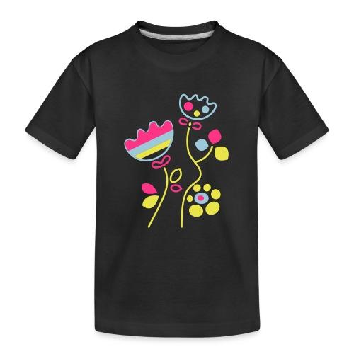 tulipani - Maglietta ecologica premium per ragazzi