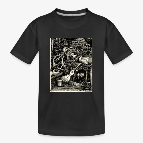 Garden of madness - Teenager Premium Organic T-Shirt
