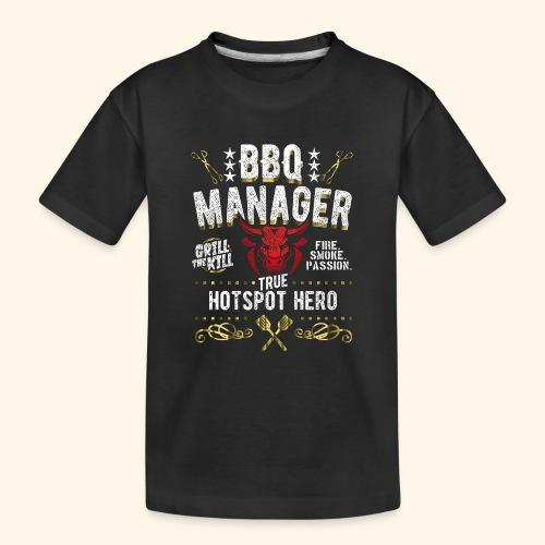 BBQ Manager - Teenager Premium Bio T-Shirt