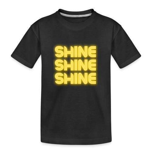 shine - Teenager premium T-shirt økologisk