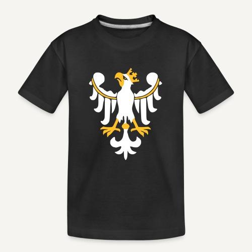 Orzeł Piastowski - Ekologiczna koszulka młodzieżowa Premium