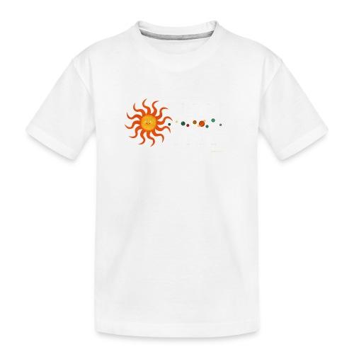 Solar System - Teenager Premium Organic T-Shirt