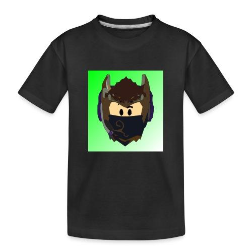 AN1MAYTRZ logo - Teenager Premium Organic T-Shirt