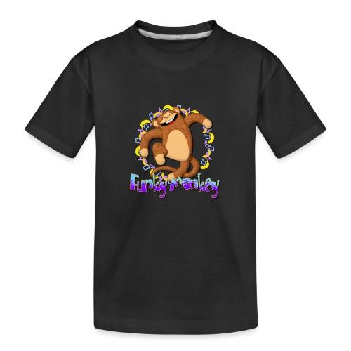 Funky Monkey - Maglietta ecologica premium per ragazzi