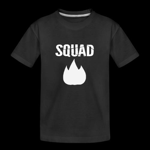 squad 2 - Teenager premium biologisch T-shirt
