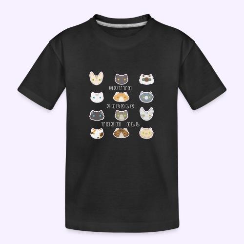 All the Cats - Maglietta ecologica premium per ragazzi