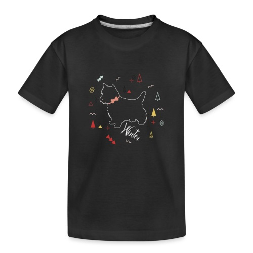 WINTER DOG COLLECTION - T-shirt bio Premium Ado